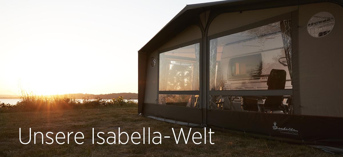 Die Isabella-Welt im Erwin Hymer Center Stuttgart