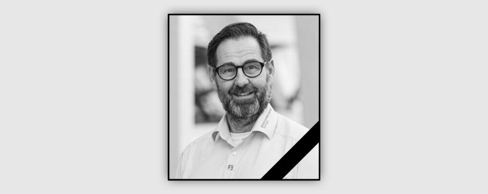 Wir trauern um unseren geschätzten Freund und Kollegen Andreas Schenk